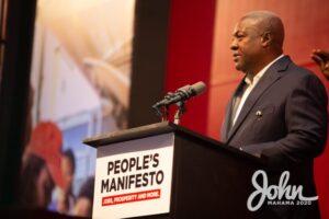Mahama Launches 2020 NDC Manifesto