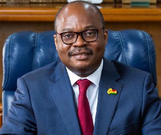 Lending rates begin to fall Dr Ernest Addison BoG Governor